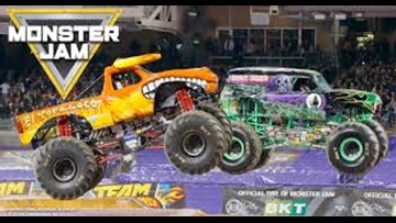 Monster Jam Family Four Pack Giveaway