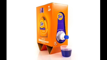 People think Tide's new laundry detergent box looks like boxed wine