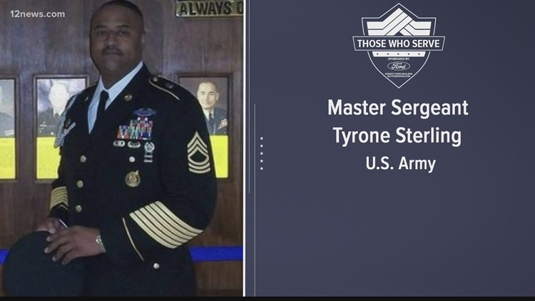 Those Who Serve: Master Sergeant Tyrone Sterling