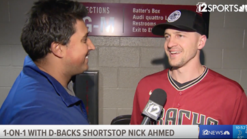D-backs' Nick Ahmed elated heading into Spring Training with new contract