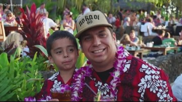 Touching tribute honors little league coach who leaves behind five kids