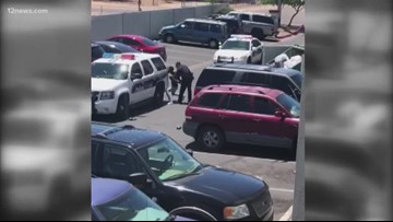 What we know about the viral confrontation between Phoenix police officers and family