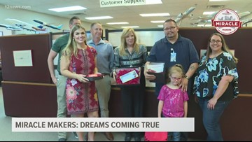 Miracle Makers: Dreams coming true for deserving Valley dad