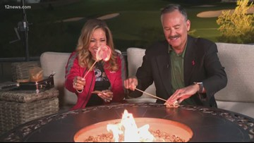 Caribe has her first s'more out at the WMPO