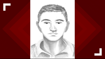 Police release sketch of driver who hit 3, including toddler, in Tempe