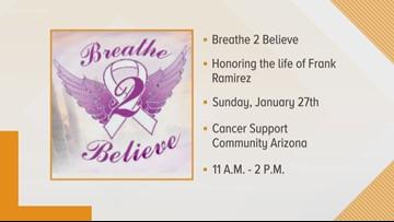 'Breathe 2 Believe' supporting Arizona cancer community