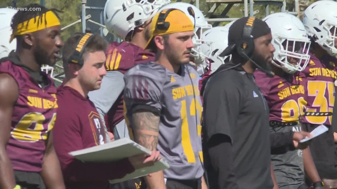 Jack Smith gets second chance with ASU football three years later
