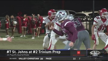 St Johns beats Trivium Prep 47-7