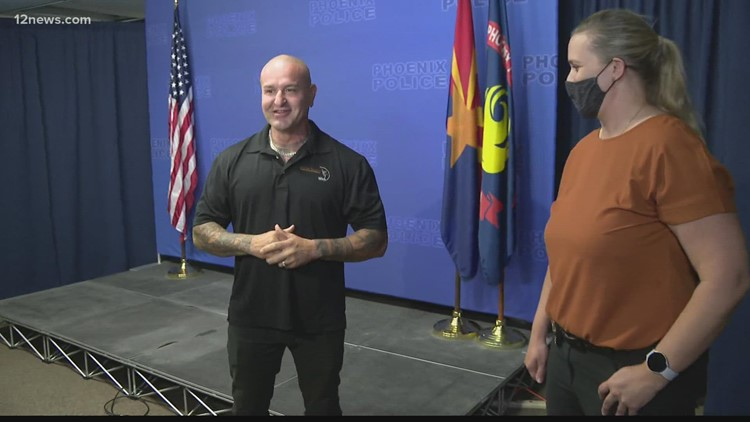 2 men who saved woman from attacker in Phoenix talk about incident