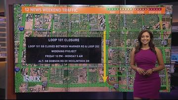 Weekend traffic outlook for June 7- June 10
