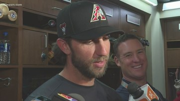 Madison Bumgarner impressive in spring debut for D-backs