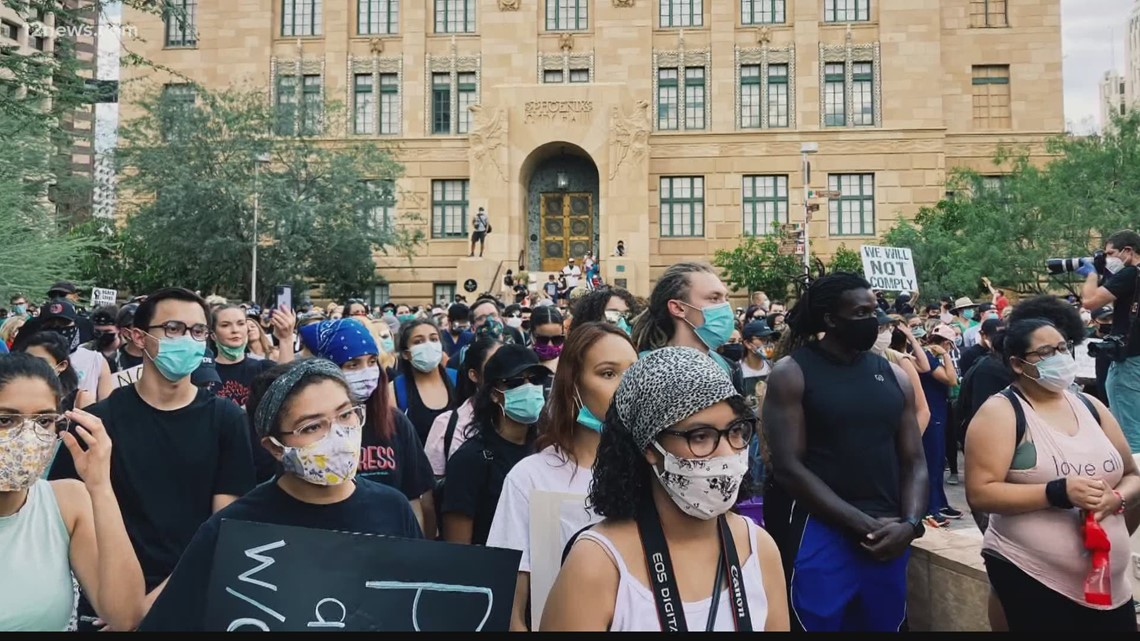 Thousands marched in Phoenix against police brutality a year ago. So, what's changed since?