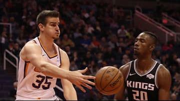 Dragan Bender's starting for the Suns in a chance to revive his career