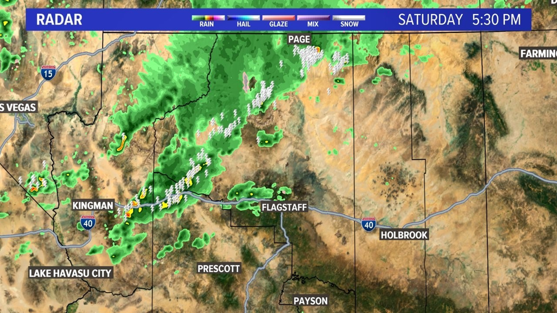 Storms, showers, flooding could hit Flagstaff, Prescott ...