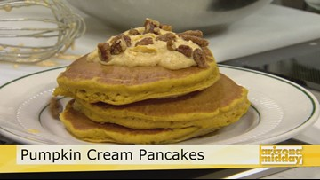 Over the Top Pumpkin Pancakes