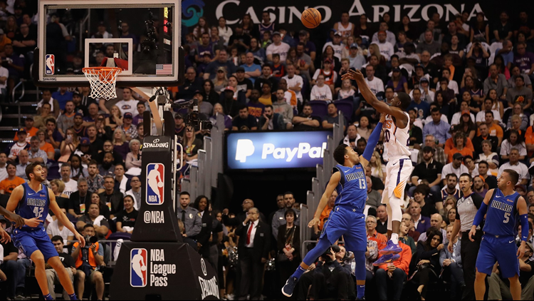 Phoenix Suns add to wettest October by raining record number of 3-pointers during opener