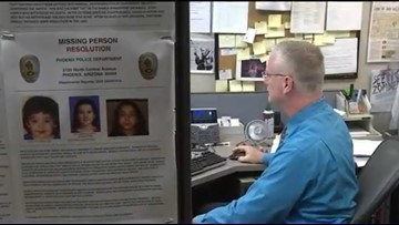 Arizona's Missing: Inside the Phoenix police missing person's unit