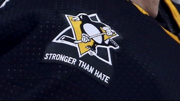Pittsburgh Penguins honor synagogue shooting victims with special patch