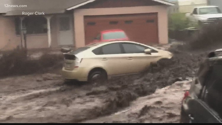 Gov. Ducey issues declaration of emergency due to monsoon flooding in Coconino County