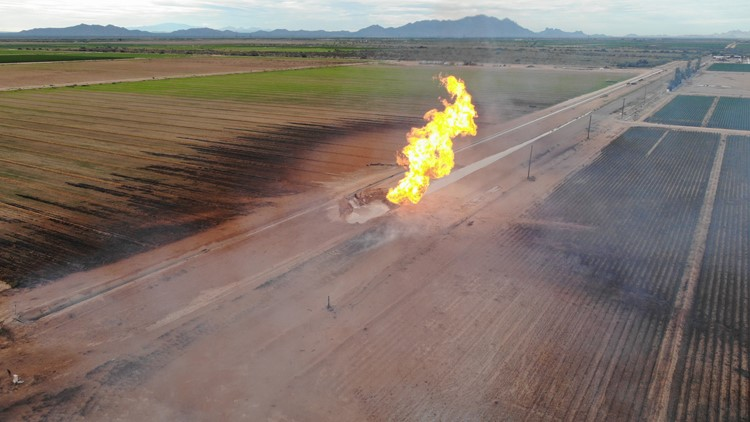 Pipeline that ruptured in fatal Coolidge explosion installed nearly 40 years ago; was originally for crude oil