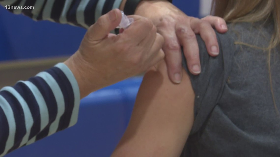 50,000 COVID vaccine appointments booked after Arizona allowed those 55 and older to sign up