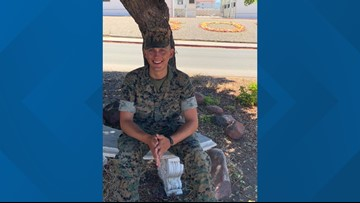 A Valley man who never showed for service at Camp Pendleton found safe in Texas