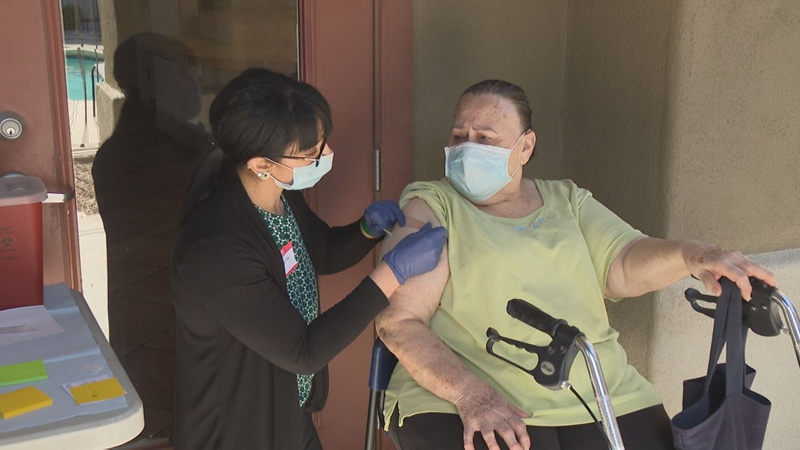 City of Phoenix makes it easier for some of the most vulnerable to get COVID-19 vaccine