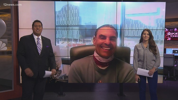 2-on-1 with Herm Edwards before Arizona State's season-opener against USC