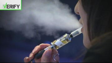 Verify: Health risks of vaping