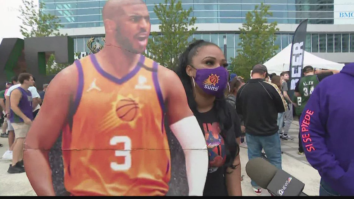 Meet Suns point guard Chris Paul's biggest fan