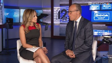 'The truth is under attack right now' says Lester Holt in interview with Caribe Devine
