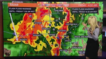 Severe weather continues its push through the state