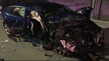 DPS: Wrong-way drivers responsible for 2 overnight crashes on Valley freeways