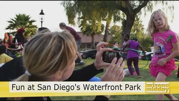 Splash Around at San Diego's Waterfront Park