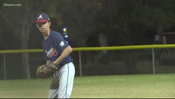 Valley boy with autism finds his groove as a pitcher
