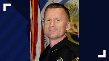 Prescott Valley's deputy police chief is named interim chief