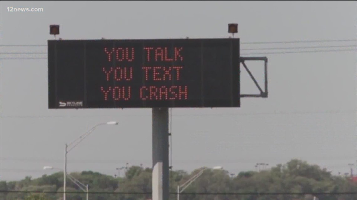 Survey says 90 percent of drivers not using phones on AZ roads