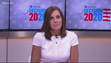 Sen. Martha McSally shares her thoughts on the impeachment inquiry into President Trump