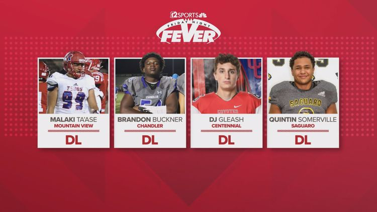 All Fever Team: Offensive and defensive lines