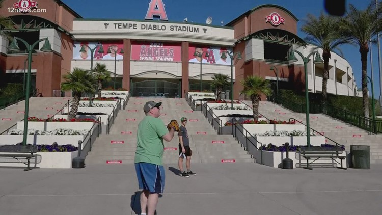 New COVID safety measures in place for spring training in Arizona