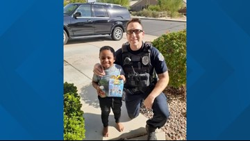 A 5-year-old boy dialed 911 for a Happy Meal, so a Mesa police officer took care of his 'emergency'