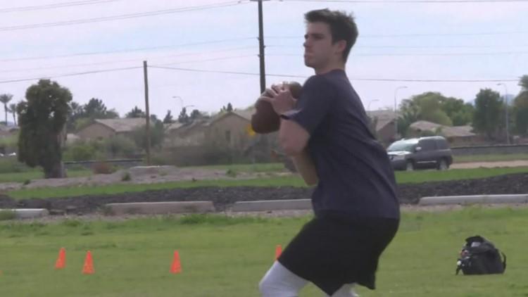 Valley student-athletes find ways to practice amid coronavirus pandemic