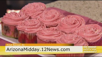 Strawberry Daiquiri Cocktail Cupcakes Recipe