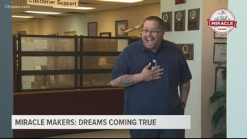 Miracle Makers: Dreams come true for a Valley dad