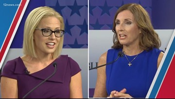 Democrat Krysten Sinema wins open U.S. Senate seat over Republican Martha McSally