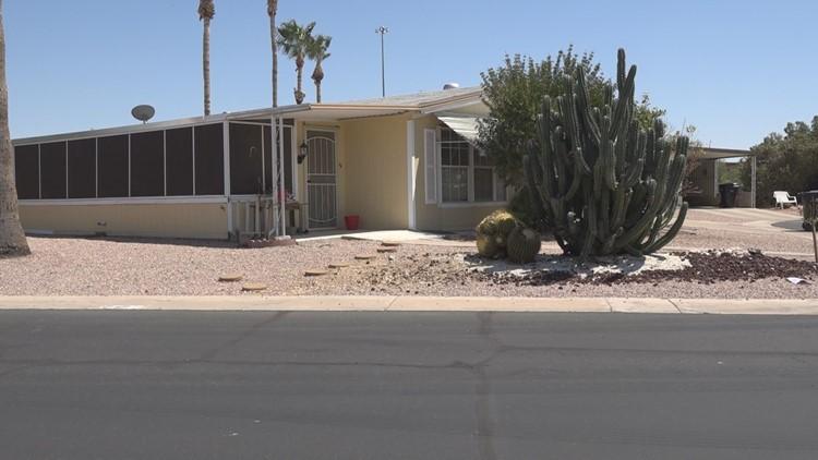 Mesa veteran home tax