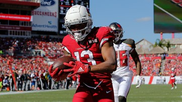 Cardinals fall short in Tampa Bay 30-27