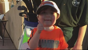 7-year-old golf superfan's legacy lives on at the Phoenix Open