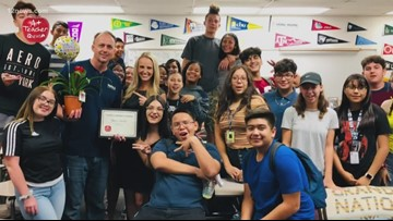 A+ Teacher of the Week: A valuable member of the Tempe High Buffalo family