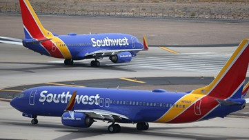 Southwest Airlines canceling 1,500 flights per day starting Friday